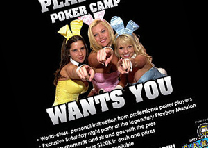 Playboy Poker Camp